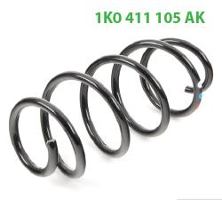 1K0411105AK передние пружины без ППд