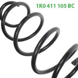 1K0 411 105 BC передние пружины на Октавию А5
