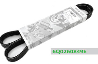 6Q0260849E ремень поликлиновый