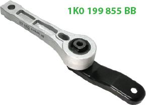 1K0199855BB опора задняя Octavia A5 TSI