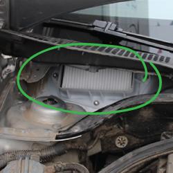 фильтр воздухозаборника шкода октавия а5