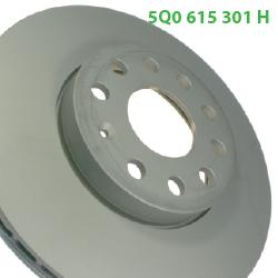 5Q0615301H тормозной диск Octavia A5