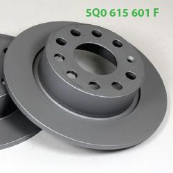 5Q0615601F задний тормозной диск Октавия