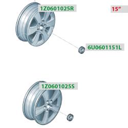 литые диски 15 для шкода октавия а5