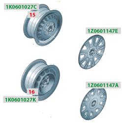 штампованные диски для шкода октавия а5