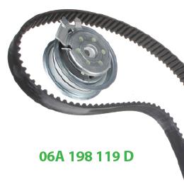 06A198119D комплект ГРМ Шкода Октавия А5
