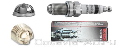 Свеча зажигания Bosch 0242232502 Octavia a5