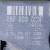 06F903023F генератор 140А шкода октавия а5