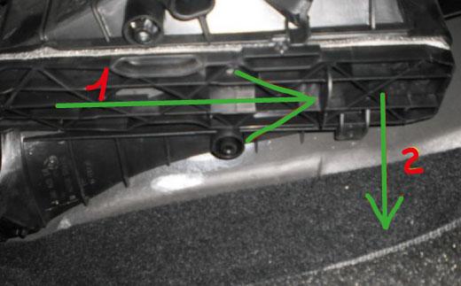 замена салонного фильтра шкода октавия а5
